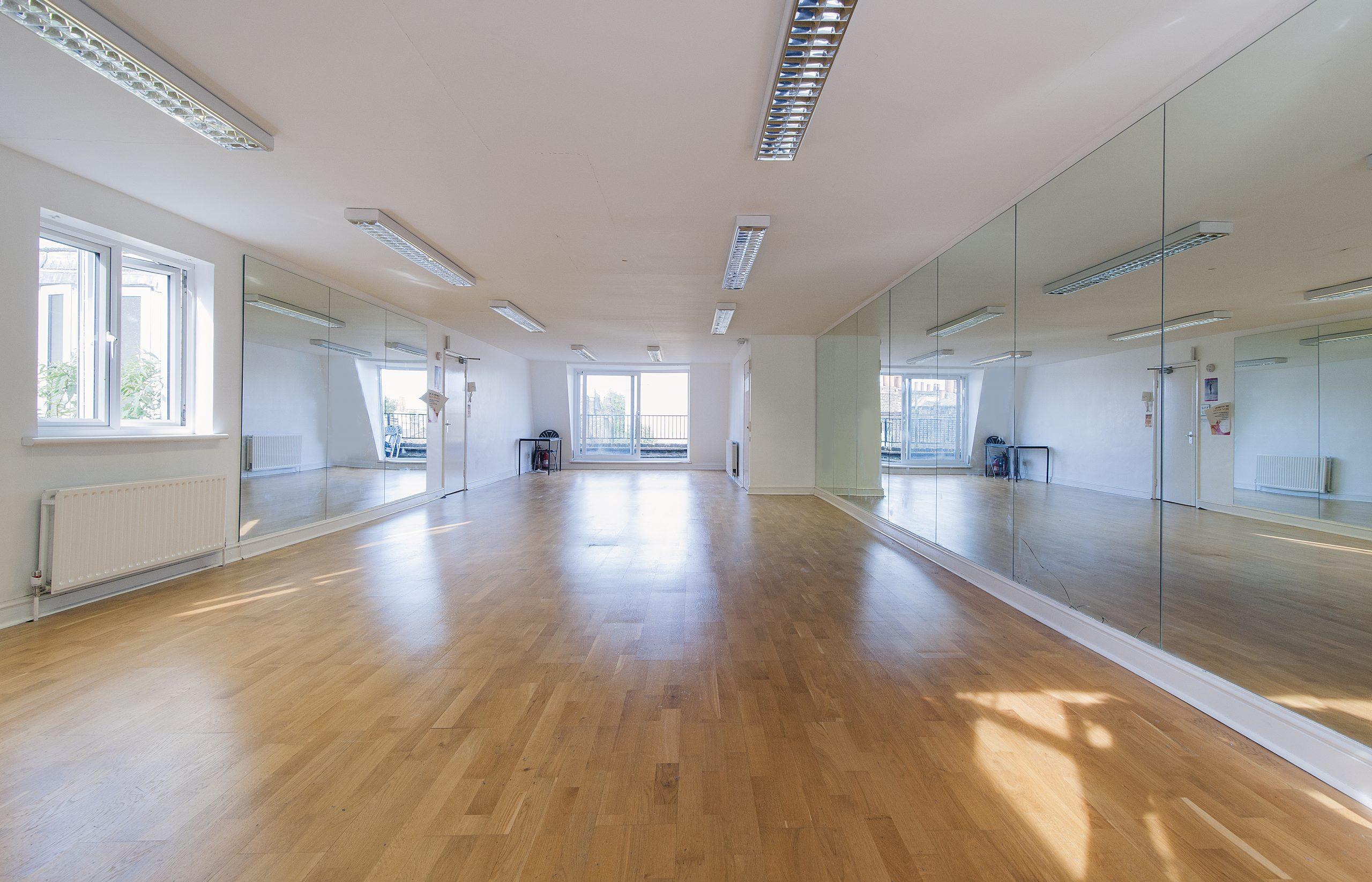 dance studios to hire