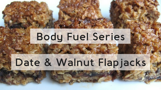 Body Fuel Series – Date & Walnut Flapjacks
