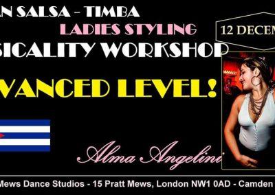 CUBAN SALSA – TIMBA LADIES STYLING – ADVANCED LEVEL!